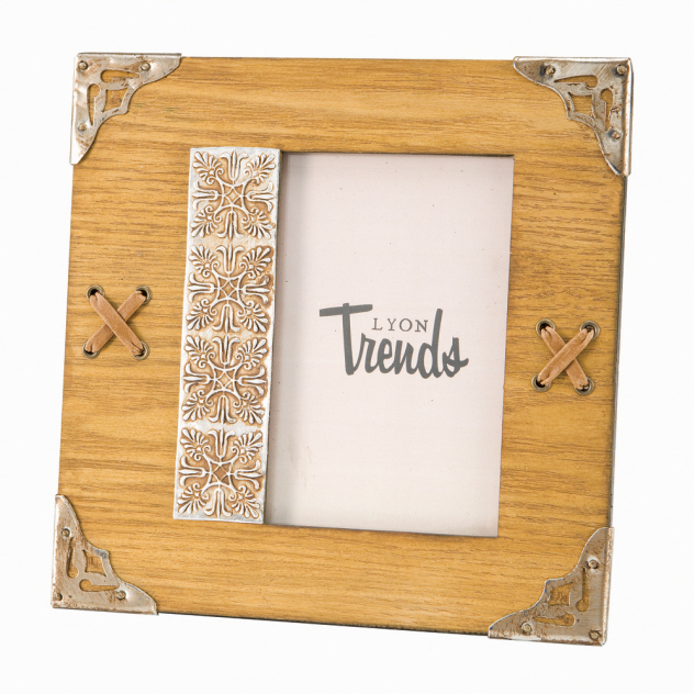Western Decor Lodge Cabin Western 4x6 Picture Frame Ebay